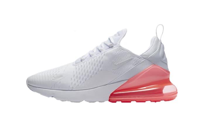 air max 270 rosa e bianche